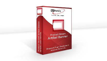 Product Stream Artikel Banner