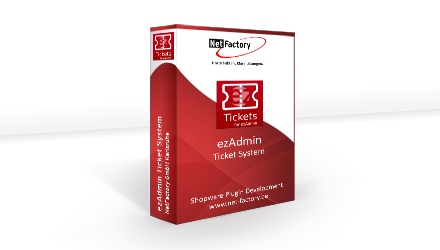 Ticket System - ezAdmin