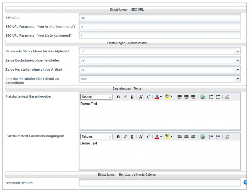 Handbuch Herstellerl Netfactory Plugins